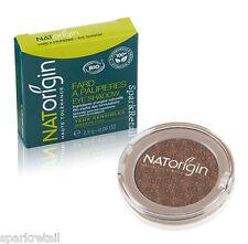 NATOrigin Organic Pressed Powder EYE SHADOW Shimmer Eyeshadow 89 BROWN 2.5g