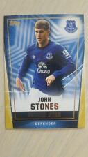 Topps Premier Club 2014-2015 Everton John Stones Future Defender gold line