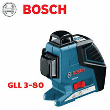 Bosch 3 Gll3 80 and Plane Laser Line Leveling Alignment