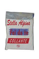 5 kg di collante colla stucco in polvere bianca per piastrelle mattonelle