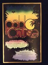 PABLO CRUISE CONCERT POSTER - MINT CONDITION