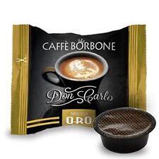 100 capsule caffè BORBONE miscela ORO compatibili Lavazza a Modo Mio cialde