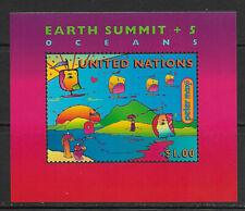 UNITED NATIONS , NEW YORK , EARTH SUMMIT , SOUVENIR SHEET  , 1997 ,  MNH