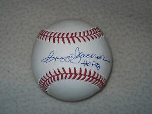 REGGIE JACKSON HOF 93 INSCRIBED SIGNED AUTOGRAPHED MLB BASEBALL YANKEES JSA