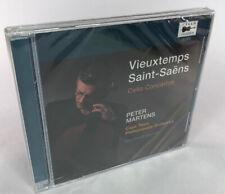 Peter Martens - Vieuxtemps Saint-Saëns - Cello Concertos - New & Sealed CD