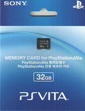 Sony PS Vita (Playstation Vita) Memory Card 32 GB - Ships from USA