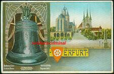 AK 1910 - ERFURT - Glocke GLORIOSA - Dom - St.Severikirche - gelaufen frankiert