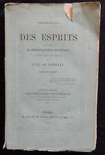 G/ DES ESPRITS ET DE LEURS MANIFESTATIONS DIVERSES de Mirville (1863) Occultisme