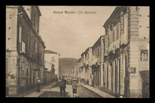 cartolina LOCRI (GERACE MARINA) via garibaldi