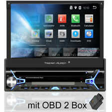 Android 8.1 Autoradio mit Navi Bluetooth Navigation 1 DIN OBD2 MP3 Bildschirm SD