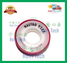 High Quality Nastro P.T.F.E. TEFLON TAPE 12mmx0.076mmx12m