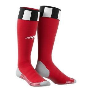 Hamburger SV Socks Kid's Adidas Football Match Away Socks - Red - New
