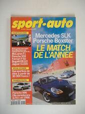 SPORT AUTO n°418 BIZZARINI 5 300 GT-PORSCHE BOXSTER-LOTUS V8-PEUGEOT 406 V6 SVE