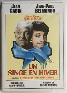 📀 DVD - UN SINGE EN HIVER (1962)🍿🎬 JEAN PAUL BELMONDO / JEAN GABIN