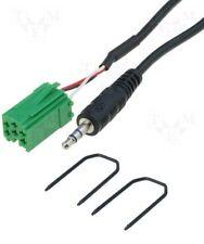 RENAULT LAGUNA SCENIC 2005-2012 Adaptateur entrée AUX IN Câble pour iPod MP3 +