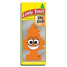4 x Little Magic Tree Car Air Freshener SILLY CITRUS Fruit Freshner 2D
