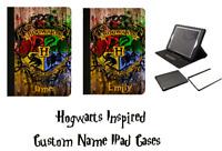 IPad 2/3/4Mini Air/Air2,Pro 9.7/12.9 Custom Harry Potter Faux Leather Folio Case