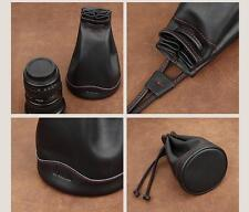 Cowhide leather black Pouch for Rolleiflex 2.8F/2.8FX/2.8GX Cam-in