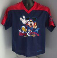 Disney World RARE Kids VINTAGE MIckey Sorcerers Jersey Sz Youth XL Best Price!