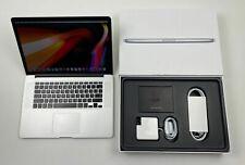 """Apple MacBook Pro Retina 15,4"""" i7 2,3 Ghz 512 GB SSD 16 GB Ram ME294LL/A QWERTY"""