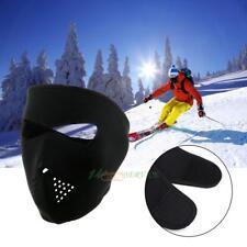 2 in1 Reversible Neoprene Full Face Mask Ski Snow Motorcycle Cycling Bike Black