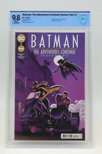 Batman The Adventures Continue Season Two (2021) #3 Pepper CBCS 9.8 White Pages