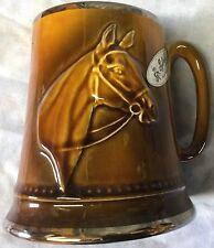 Fox Hunt Hunting Horse Head Mug Sylvac