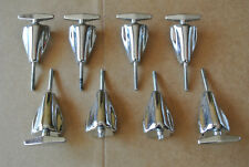 SET of (8) PREMIER GENISTA BASS DRUM TENSION RODS / T-RODS + CLAWS! LOT #B179