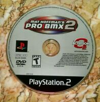 Mat Hoffman's Pro BMX 2 (Sony PlayStation 2, 2002) PS2 - Disk Only! Tested