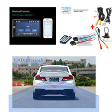 1X 7-Inch HD Touch Screen Car MP5/MP4 Player TFT Monitor Rear View Camera Radio