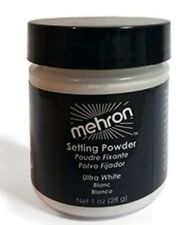 Mehron Setting Powder Ultra White Professional Stage Makeup Anti Perspirant 28g