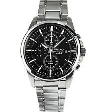 Seiko SNAF03P1 Herren XL Armbanduhr Chronograph NEU & OVP