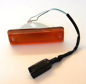 HONDA CIVIC SHUTTLE 1983-1987 FRONT RIGHT INDICATOR LAMP LIGHT LENS O/S DRIVER