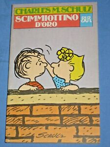 SCIMMIOTTINO D' ORO - Charles M. Schulz - BUR ( Peanuts Charlie Brown Linus)(P5)