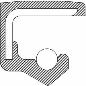 Transfer Case Shift Shaft Seal National 221710