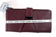 Mundi Genuine Leather Women's Bifold Wallet