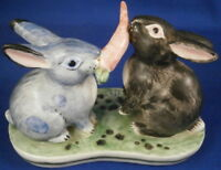 Cute Nymphenburg Porcelain Bunny Rabbit Figure Figurine Porzellan Hase Figur