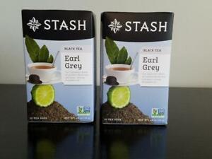 Stash Tea Earl Grey (2 Boxes) *FREE SHIPPING*