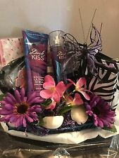 Bath And Body Works Dark Kiss Spa Gift Basket