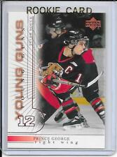 00-01 Upper Deck Tyler Bouck Young Guns Rookie # 201