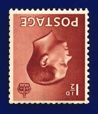1936 Sg459Wi 1½d Red-Brown (Wmk Inv) P3a Mmh ccbu