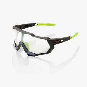 100% SPEEDTRAP Sunglasses Cool Grey Photochromic Lens