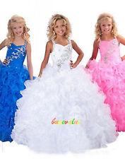 2-14 robe de mariée fille girl wedding dress Fleuriste girl wedding custom-G