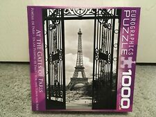 Eurographics Jigsaw Puzzle Eiffel Tower At The Gates of Paris 1000 Piece