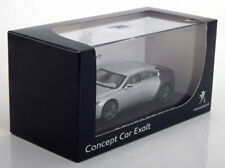 PEUGEOT EXALT CONCEPT CAR 2014 SALON PARIS SILBER GREY NOREV 472714 1/43 MATT