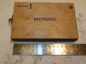 MYFORD ML7 SUPER 7 LATHE TOOL HOLDER BORING CUTTING TOOLS IN BOX