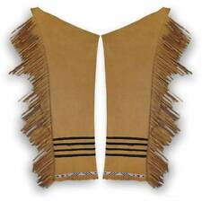 Buckskin Leggings Kit for Northern Plains Sioux Pawnee Crow Plateau Style DIY