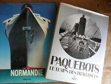 Normandie paquebots
