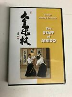 Staff of Aikido DVD By Mitsugi Saotome Martial Arts Jo Bo Spear