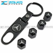 Valve Stem Caps Keychain Keyring Wheel Tire Key Keys - Us Seller
